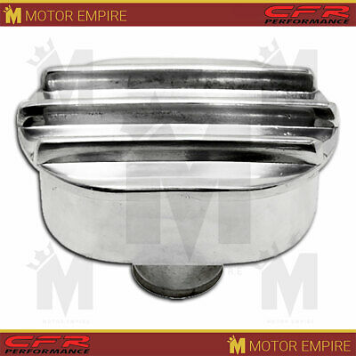 Finned  Billet Aluminum Radiator Cap 16 Lbs Fits Ford Chevy Sbc Bbc
