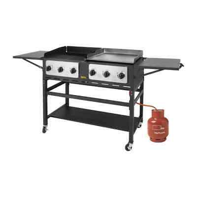 6 Burner Combi BBQ Grill and Griddle Buffalo