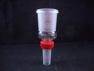 SAFE-LAB Glass Enlarging Connecting Adapter from 24/40 to 45/50 Extraction Nut