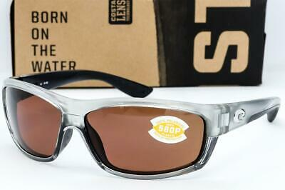 2ca5d2f6bdd1 New Costa Del Mar Saltbreak Sunglasses Silver frame / Copper 580P Polarized  lens