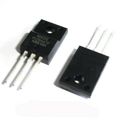 H● 5 Pcs P1260ATF TO-220F P1260 N-Channel Mosfet.