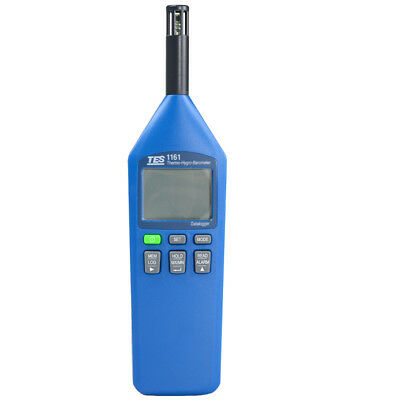 H● TES 1161 Thermo / Hygro / Barometer / Humidity Temperature Meter.