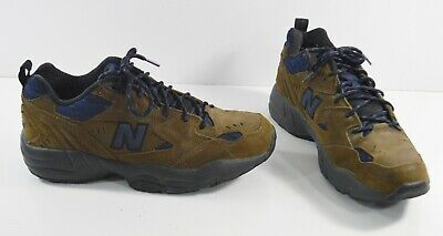 New Balance Mens Size 11.5 D EUR 45.5 Brown Cross Trainers Shoes MX6080D Seude