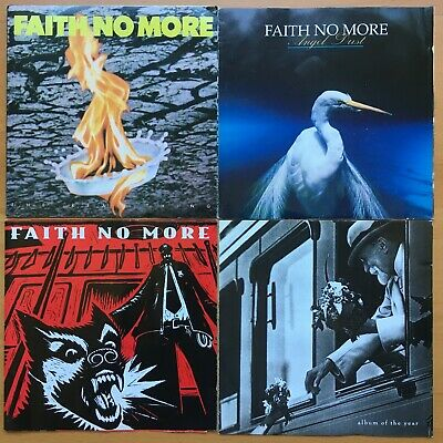 FAITH NO MORE [4CD] Real Thing+Angel Dust+King For A Day Fool+Album Of The Year