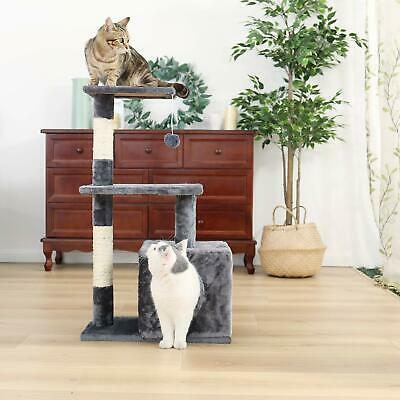 Cat Tree Scratcher Play House/Road Cat Tree Multilevel Cat Tower Featuring