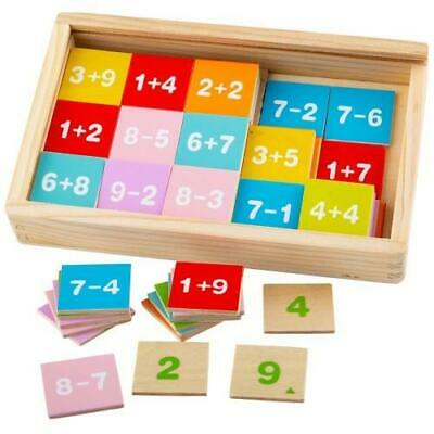 NEW Bigjigs Add & Subtract Maths Tiles in Box - Learning fun - Educational