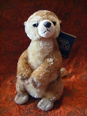 """Chester Zoo Meerkat  Soft Toy 8""""  Approx With Tag  Vgc (B121)"""