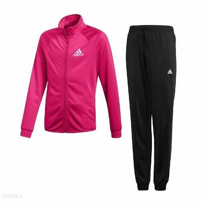 Adidas Girls Tracksuit Top Bottoms Pants Jumper Size 13-4 years