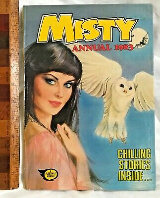Vintage 1983 Misty The Teen Wiccan Witch Comic Book Annual Hb Uk Fleetway Exc!!!