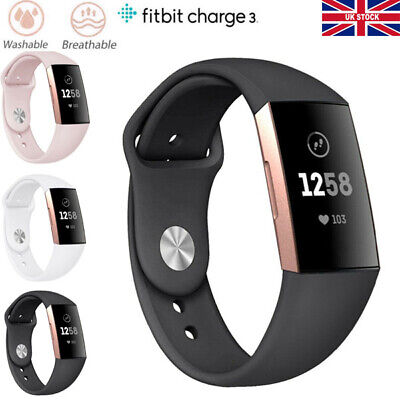 Replacement Strap For FitBit Charge 3 Sports Bracelet Watch Wristband Loop Band