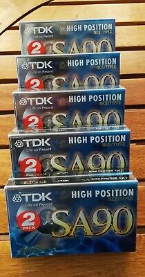10 audio cassette TDK chrome position 90 minuti