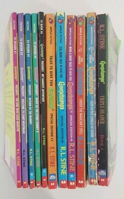 One (1) Goosebumps Book First Edition by R.L. Stine TV Choose Your Own Adventure