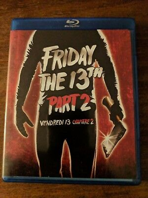 Friday the 13th - Part 2 (Blu-ray Disc, 2009, Sensormatic)