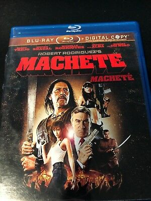 Machete (Blu-ray Disc, 2012, Canadian)