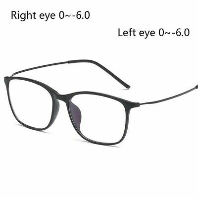Nearsighted Glass 1.56 Aspheric Prescription TR90 Anti Blue Light Retro Myopia