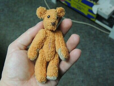 Mini Orange Artist Teddy Bear