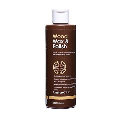 Wood Wax & Polish - Feed, Protect & Enhance All Wooden Furniture & More!