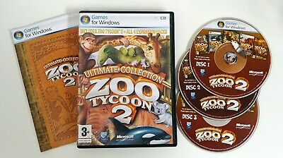 ZOO TYCOON 2 Extinct Animals Expansion Pack - PC DVD - New
