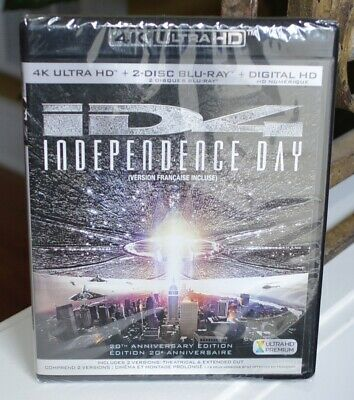 Independence Day /20th Anniversary/New 4K Ultra HD