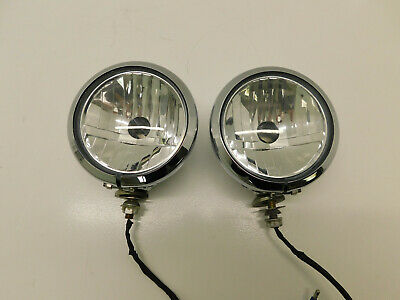 Harley Davidson OEM Touring Electra Glide  Road King Chrome Fog Light Lamp