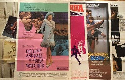 460+ Movie Poster Lot Mixed 1960's - 2016 Theatre Promo One Sheet Vinyl Posters