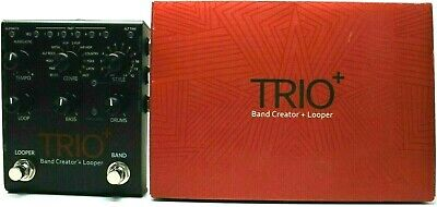 used DigiTech Trio+ Band Creator + Looper, Mint with Box & Power Supply! plus