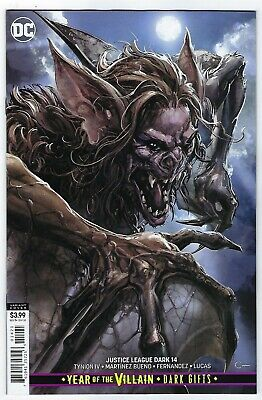 Justice League Dark # 14 Variant Cover NM DC Pre Sale Ships Aug 28th