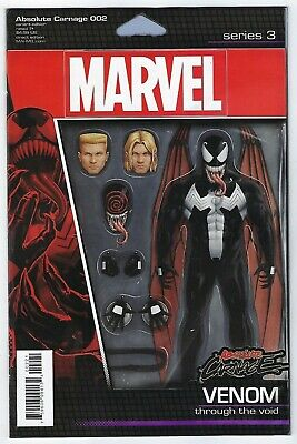 Absolute Carnage # 2 Action Figure Variant NM Marvel