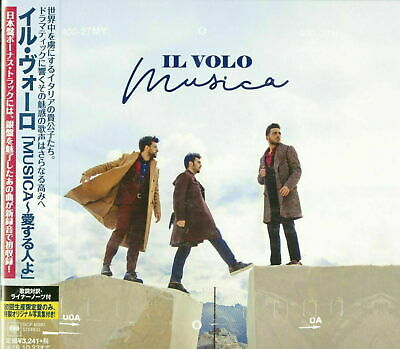 IL VOLO-MUSICA-JAPAN CD+BOOK BONUS TRACK Ltd/Ed I19