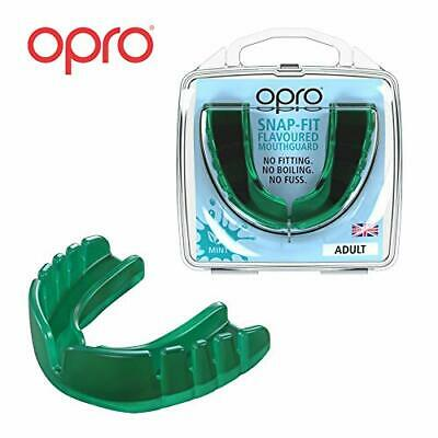 OPRO Snap-Fit Sports Mouthguard, Adultos Unisex, Menta