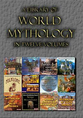 Library of World Mythology - 12 DVD-ROMs in a shrinkwrapped hinged box