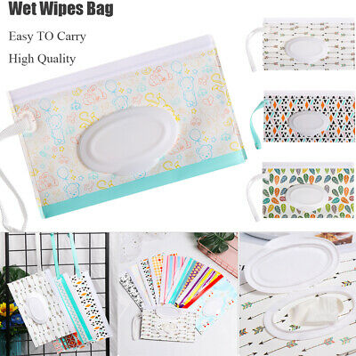 Case Portable Cosmetic Pouch Wet Wipes Bag Tissue Box Stroller Accessories
