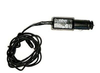 Used Iridium DC Car Charger for 9505A, 9555, 9575 Satellite Phone with warranty