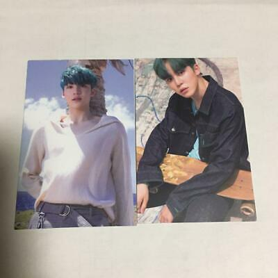 ATEEZ YUNHO WAVE official photocard 2 set trading card