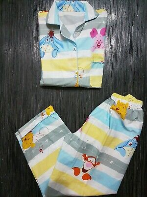 Winnie the pooh 12-13 Girls Pyjamas Cartoon Pyjamas Animation...