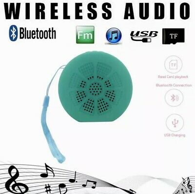 Cassa Bluetooth Portatile Con Radio Usb Sd Big Bass Mini Speaker Blu Nero Rosso