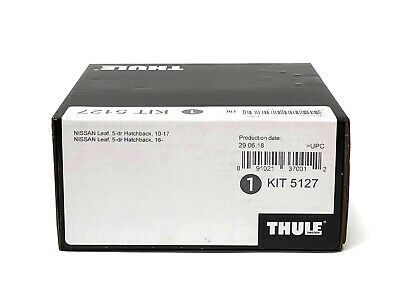 Thule Evo Fitting Kit 5127 Fits Nissan Leaf Hatchback 2010 on With Normal Roof