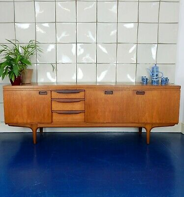 Greaves and Thomas teak sideboard credenza mid century retro mcm vintage