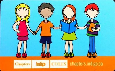 Chapters Indigo Coles Children Off Internet Reading Books Collectible Gift Card