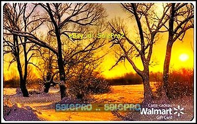Walmart Canada Fall Sunrise Field Day Bilingual #Fd29702 Collectible Gift Card