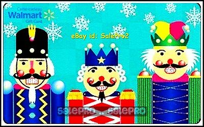 Walmart Canada Three Happy Kings French English #Fd29383 Collectible Gift Card
