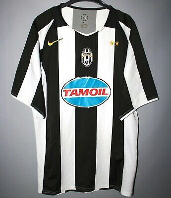 reputable site aa77c c4232 JUVENTUS ITALY 2004/2005/2006 Home Football Shirt Jersey Camiseta Nike  Maglia M