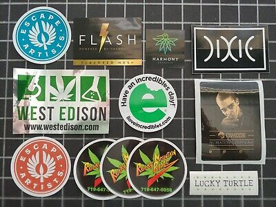 COLORADO MARIJUANA INDUSTRY stickers - pack of 15 - $7 99