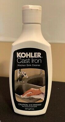 8 oz. Cast Iron Kitchen Sink Cleaner Household Metal Cleaners, Remove Marks Left