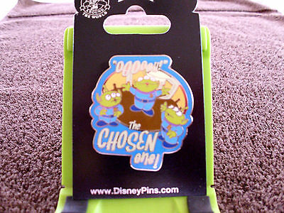 Disney * TOY STORY - ALIENS - CHOSEN ONE * New on Card Character Trading Pin