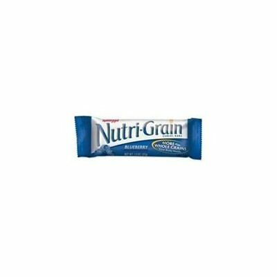 Nutri Grain Cereal Bar - Individually Wrapped, Low Fat - Blueberry - 16 / Box