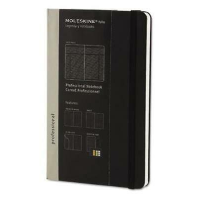 Hachette Book Group PMOP4626 Professional Notebook, 5 X 8 1/4, Black Cover, 240