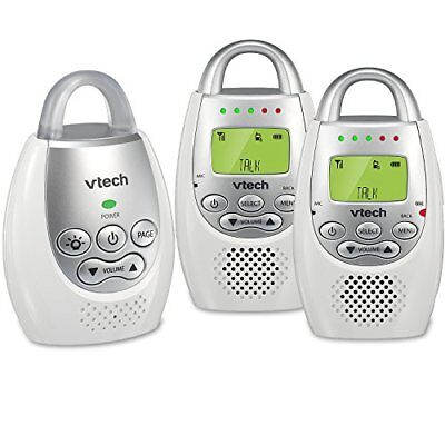 Vtech Dm221-2 Safe & Sound Digital Audio Baby Monitor With 2 Parent Units