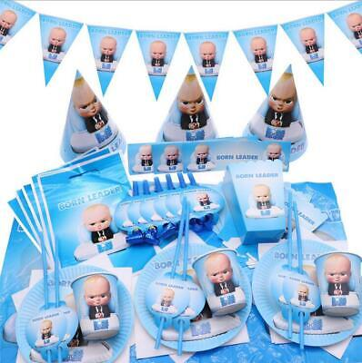 2019 Children Party Supplies Cartoon The Boss Baby Theme Birthday Party Decor