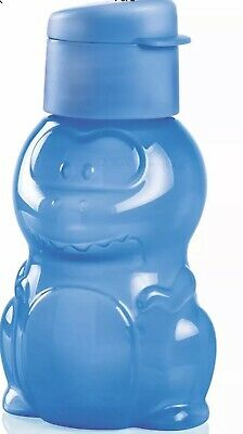 NEW Tupperware Danny the Dinosaur ECO Water Bottle 12oz/350mL BLUE